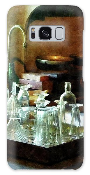 Pharmacy - Glass Funnels And Bottles Galaxy Case