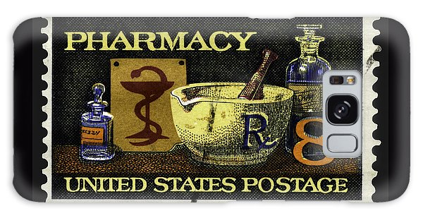 Pharmacy Stamp With Bowl Of Hygeia Galaxy Case