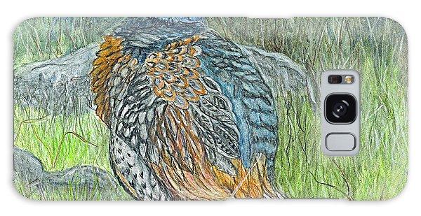 Pheasant Common Male Galaxy Case by Carol Wisniewski