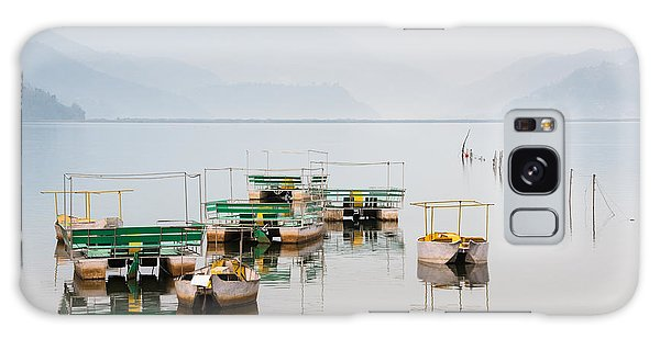 Phewa Lake In Pokhara Nepal Galaxy Case