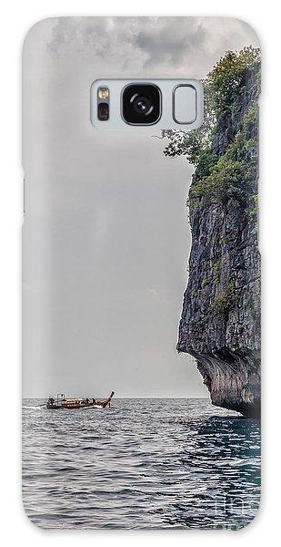 Phi Phi Island Galaxy Case - Phi Phi Leh Thailand Northern Cliffs. by Frank Bach