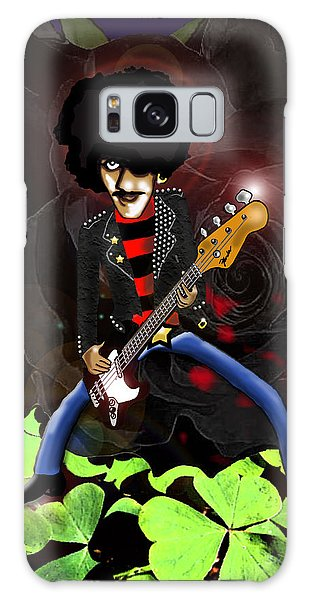 Phil Lynott Of Thin Lizzy Galaxy Case