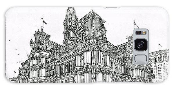 Philadelphia City Hall 1911 Galaxy Case