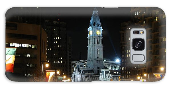 Philadelphia City Hall Galaxy Case by Christopher Woods