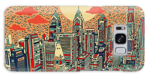 Philadelphia Dream Galaxy Case by Bekim Art