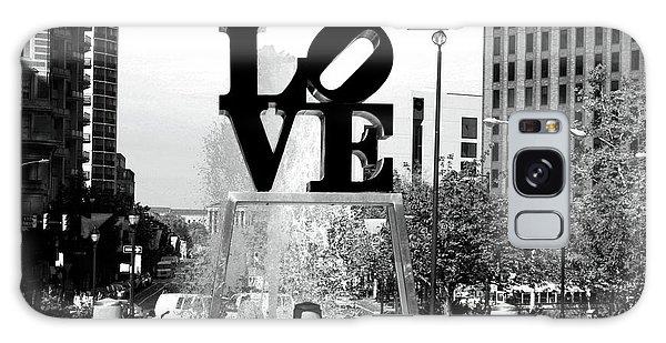 Philadelphia Love Bw Galaxy Case