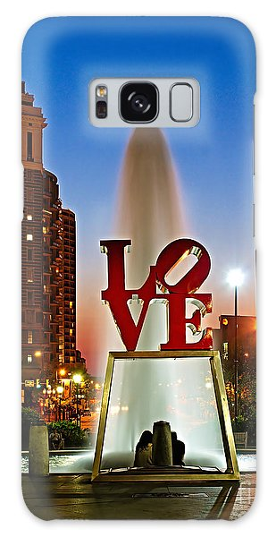 Philadelphia Love Park Galaxy Case