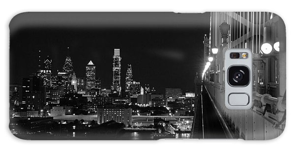 Philadelphia Night B/w Galaxy Case
