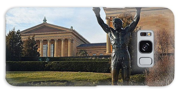 Philadelphia - Rocky  Galaxy Case by Cindy Manero