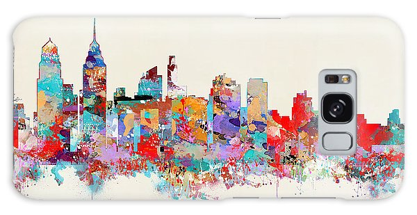 Philadelphia Skyline Galaxy Case