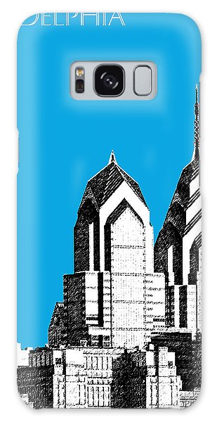 Philadelphia Skyline Liberty Place 1 - Ice Blue Galaxy Case by DB Artist