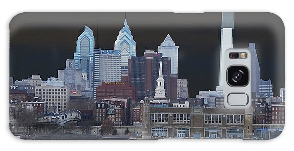 Philadelphia Skyline Galaxy Case by Lyric Lucas