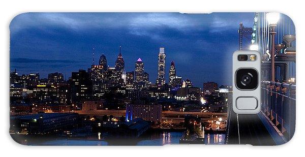 Philadelphia Twilight Galaxy Case by Jennifer Ancker