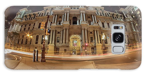 Philadelphia's Golden Glow  Galaxy Case