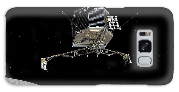 Philae Lander Descending To Comet 67pc-g Galaxy Case by Science Source