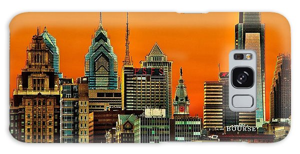 Philly Sunset Galaxy Case
