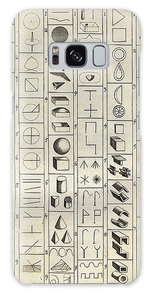 Language Galaxy Case - Philosophical Symbology by Middle Temple Library