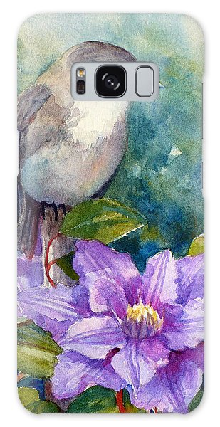 Phoebe And Clematis Galaxy Case