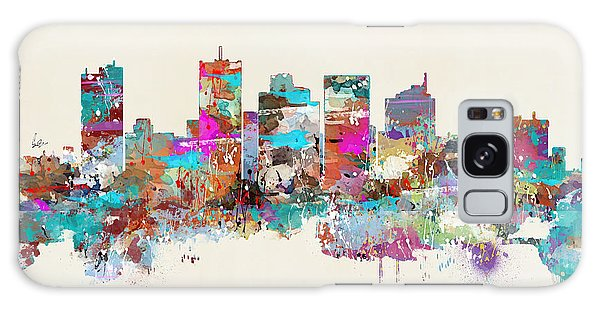 Florida Galaxy Case - Miami Floria Skyline by Bri Buckley