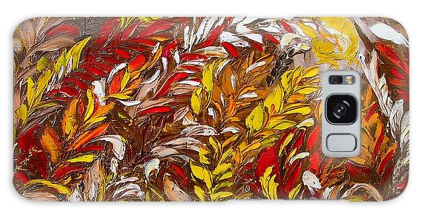 Phoenix Flower Painting Galaxy Case