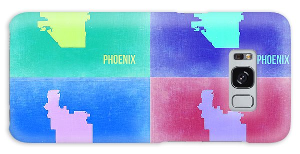 Phoenix Pop Art Map 1 Galaxy Case
