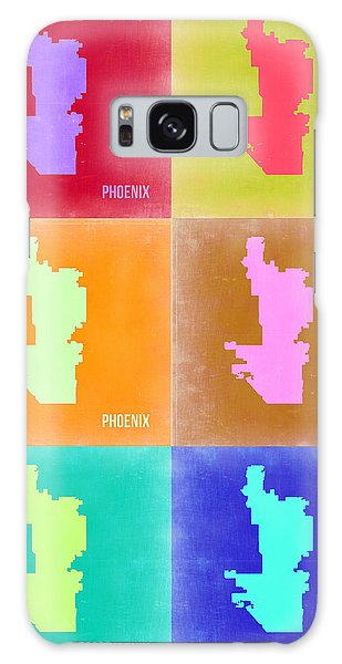 Phoenix Pop Art Map 3 Galaxy Case