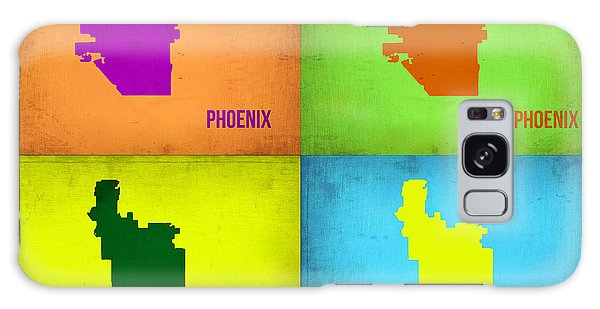 Phoenix Pop Art Map Galaxy Case