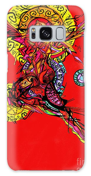 Phoenix Woman  Galaxy Case