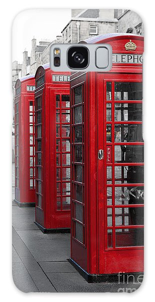 Phone Boxes On The Royal Mile Galaxy Case