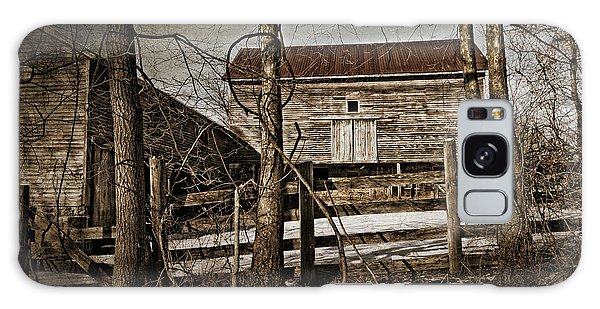 Country Barn Photograph Galaxy Case