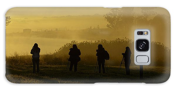 Photographers In The Mist Galaxy Case