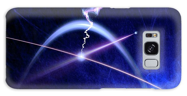 No-one Galaxy Case - Photon Interacting With Electron by Richard Kail