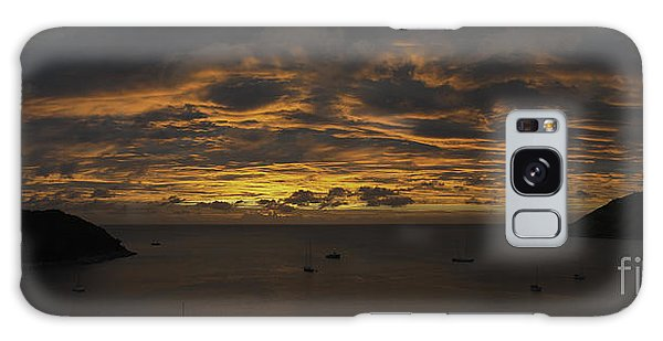 Phuket Sunset Galaxy Case by Alex Dudley