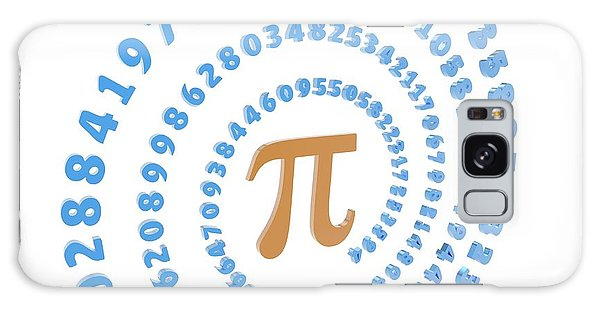 Language Galaxy Case - Pi Symbol And Number by Alfred Pasieka