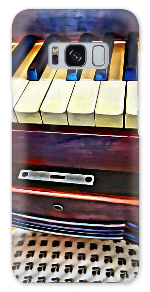 Piano And Stool Galaxy Case
