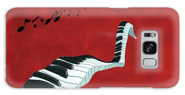 Piano Fun - S01at01 Galaxy Case by Variance Collections
