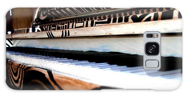 Piano In The Dark - Music By Diana Sainz Galaxy Case
