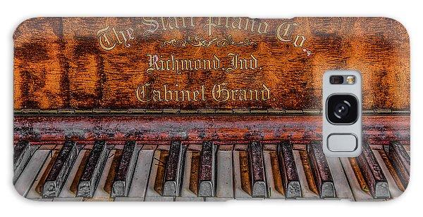 Piano Keys #1 Galaxy Case by Ray Congrove