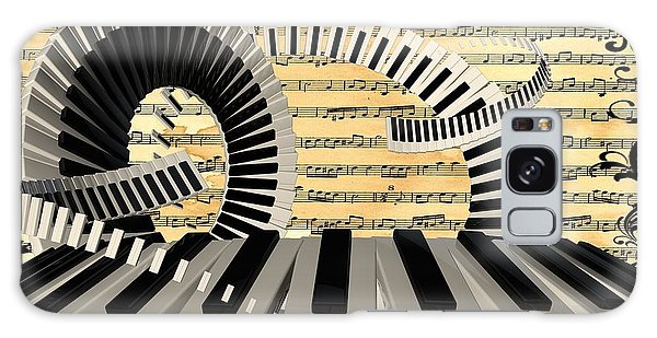 Piano Keys  Galaxy Case