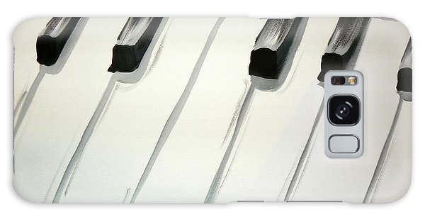Piano Keys Galaxy Case