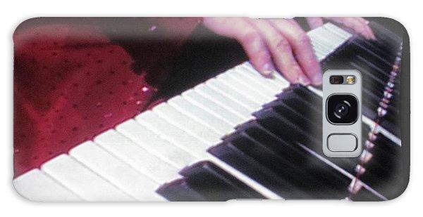 Piano Man At Work Galaxy Case