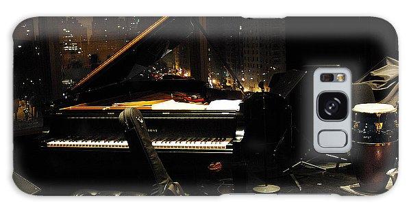 Piano Over Manhatten Galaxy Case