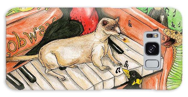 Piano Sing Along Galaxy Case