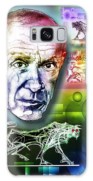 Picasso Portrait Galaxy Case