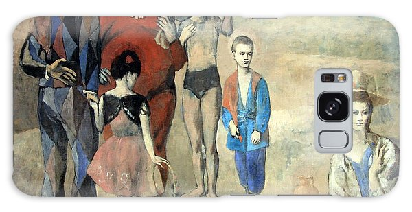 Picasso's Family Of Saltimbanques Galaxy Case by Cora Wandel