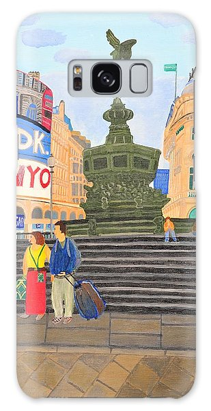 London- Piccadilly Circus Galaxy Case by Magdalena Frohnsdorff