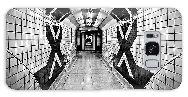 Piccadilly Circus Subway Galaxy Case by Lana Enderle