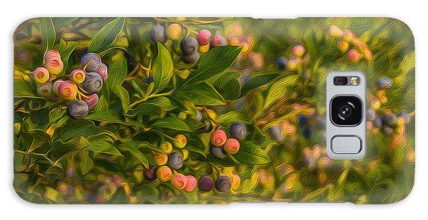 Pickin Blueberries Galaxy Case