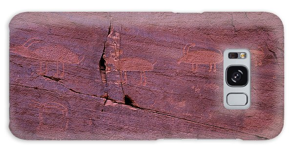 Language Galaxy Case - Pictograph Cave Art by Garry Gay
