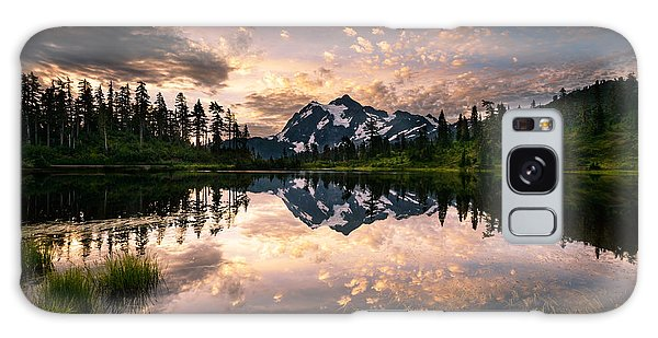 Picture Lake Awakening Galaxy Case
